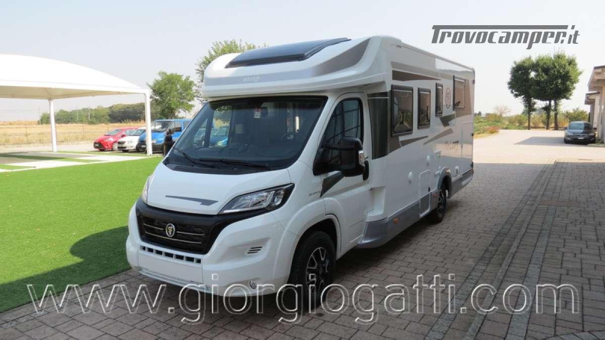 Camper Elnagh T-Loft 582 semintegrale con letto centrale e garage nuovo ducato nuovo  in vendita a Alessandria - Immagine 15