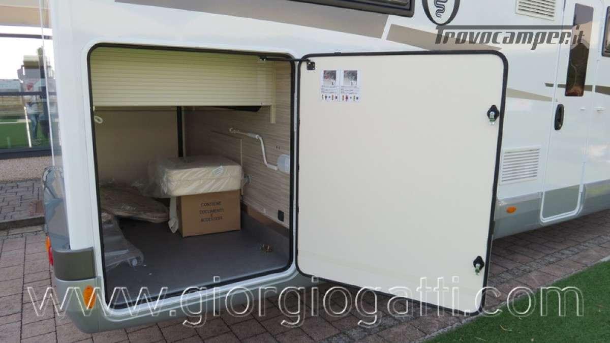 Camper Elnagh T-Loft 582 semintegrale con letto centrale e garage nuovo ducato nuovo  in vendita a Alessandria - Immagine 24