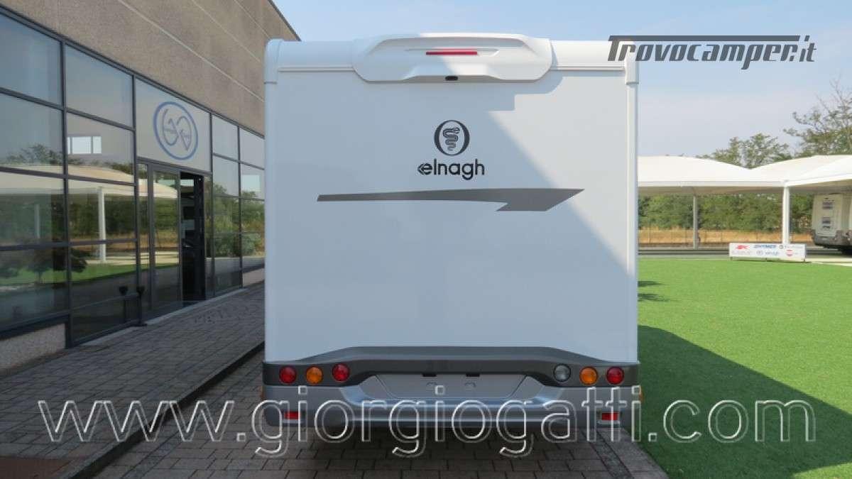 Camper Elnagh T-Loft 582 semintegrale con letto centrale e garage nuovo ducato nuovo  in vendita a Alessandria - Immagine 25