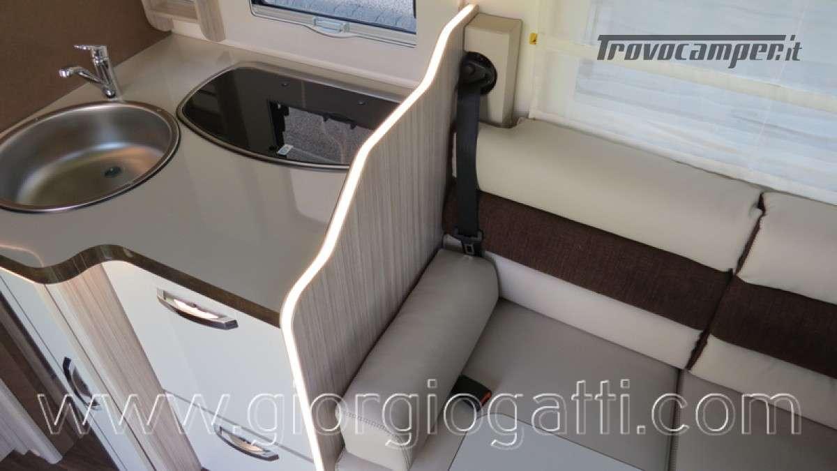 Camper Elnagh T-Loft 582 semintegrale con letto centrale e garage nuovo ducato nuovo  in vendita a Alessandria - Immagine 27