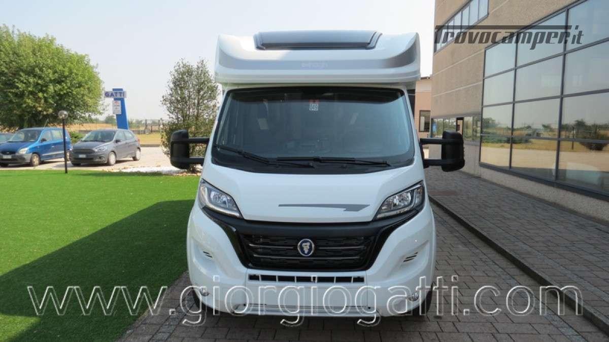 Camper Elnagh T-Loft 582 semintegrale con letto centrale e garage nuovo ducato nuovo  in vendita a Alessandria - Immagine 28