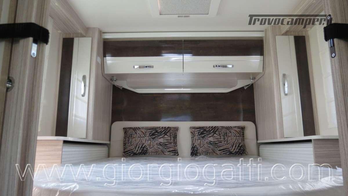 Camper Elnagh T-Loft 582 semintegrale con letto centrale e garage nuovo ducato nuovo  in vendita a Alessandria - Immagine 30