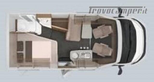 Semintegrale KNAUS VAN TI 550 MF VANSATION NUOVO SEMI nuovo  in vendita a Bergamo - Immagine 2