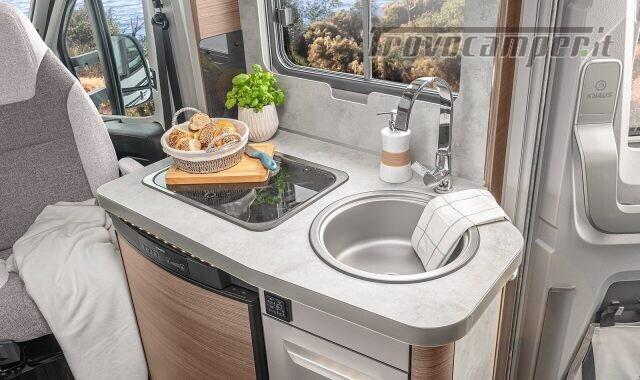 Semintegrale KNAUS VAN TI 550 MF VANSATION NUOVO SEMI nuovo  in vendita a Bergamo - Immagine 7