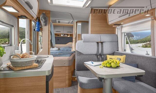 Semintegrale KNAUS VAN TI 550 MF VANSATION NUOVO SEMI nuovo  in vendita a Bergamo - Immagine 8