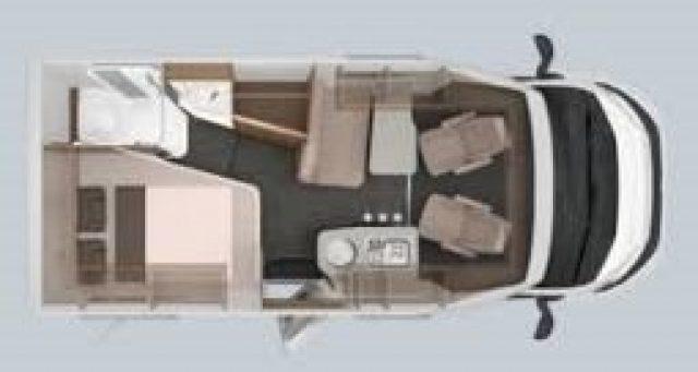 Semintegrale KNAUS VAN TI 550 MF VANSATION NUOVO SEMI nuovo  in vendita a Bergamo - Immagine 22