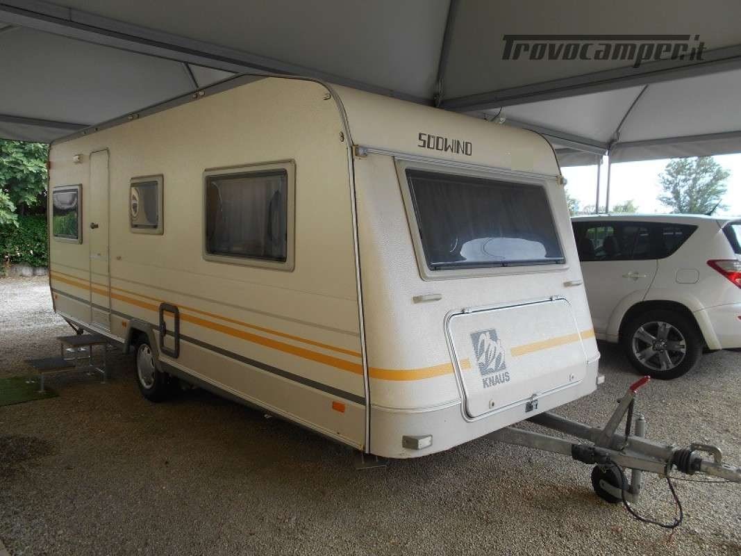Caravan Knaus  Sudwind usato  in vendita a Treviso - Immagine 1