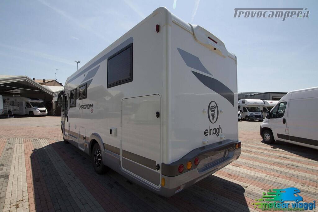 Motorhome 4 Posti Elnagh Magnum 581 - Letto nautico usato  in vendita a Rimini - Immagine 3