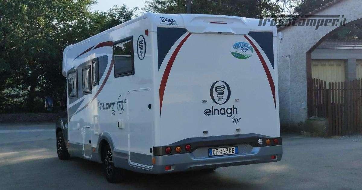 Elnagh T-Loft 582 Anniversary - Letti Gemelli - Dinette Face to Face usato  in vendita a Piacenza - Immagine 3