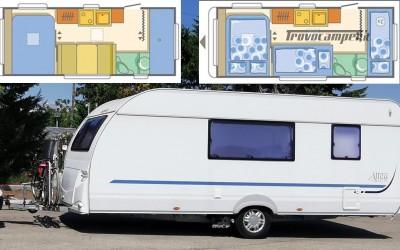 Roulotte Caravan Adria Altea 542 PK 6 posti usato  in vendita a Roma - Immagine 1