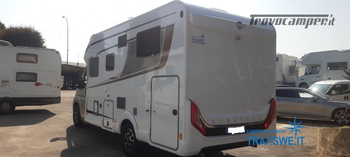Bürstner Lyseo Privilege 690G camper semintegrale con letti gemelli in coda usato  in vendita a Como - Immagine 3