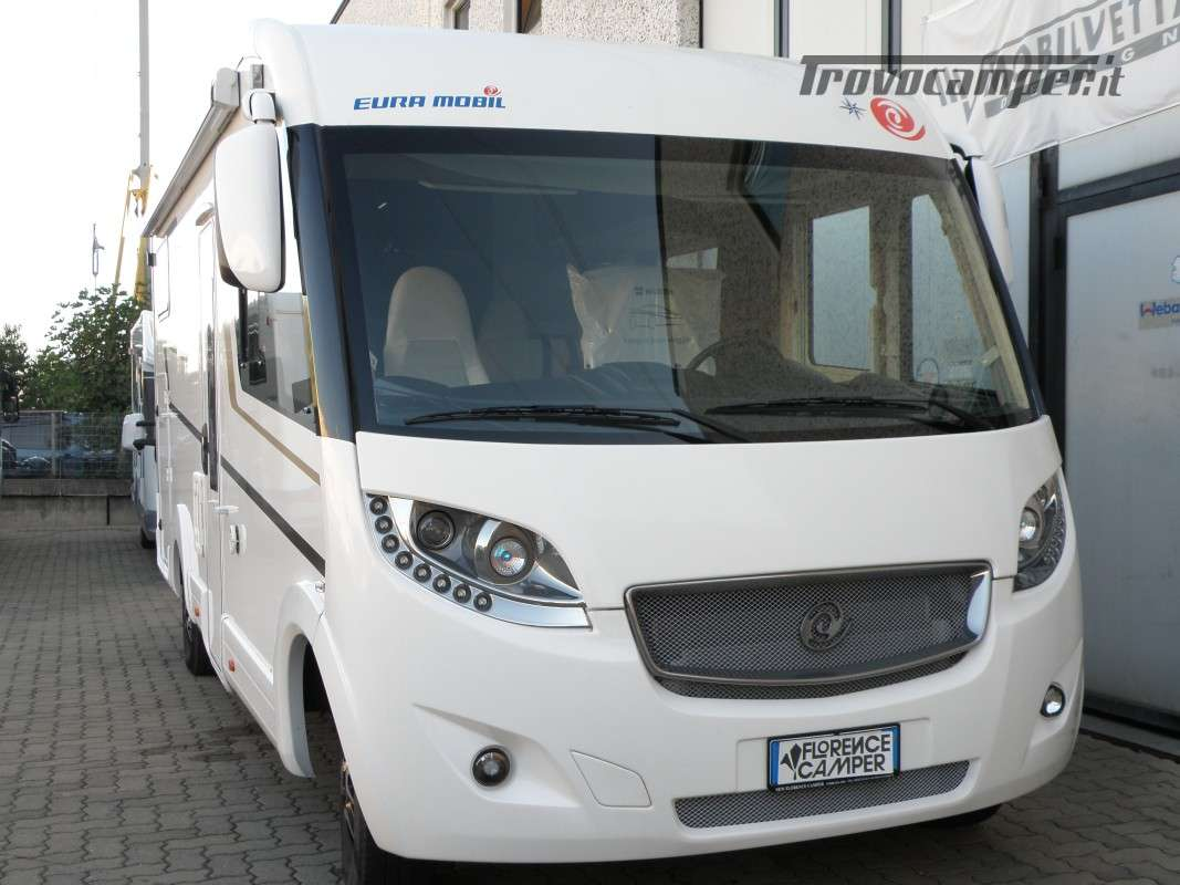 MOTORHOME EURAMOBIL ANNO 2019 LETTI GEMELLI usato  in vendita a Prato - Immagine 8