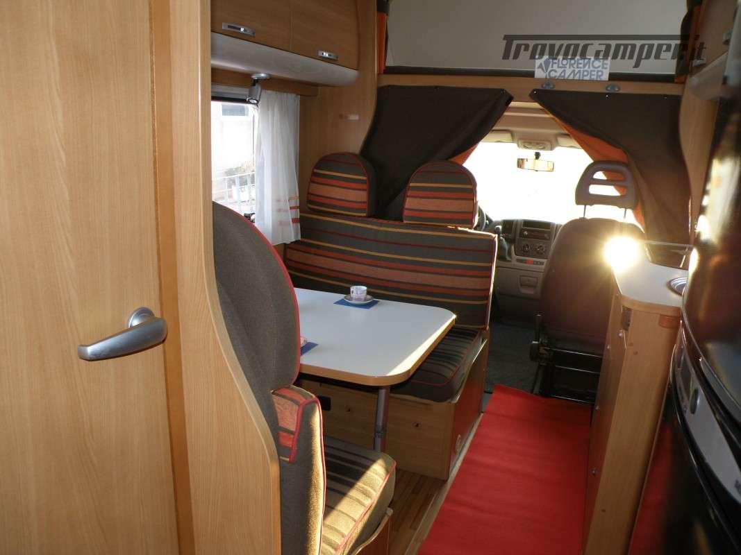 CAMPER MANSARDATO LETTI A CASTELLO SUN LIVING ANNO 2011 usato  in vendita a Prato - Immagine 6