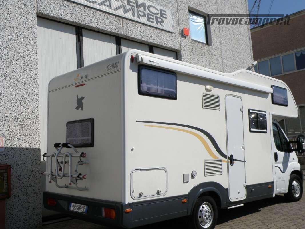 CAMPER MANSARDATO LETTI A CASTELLO SUN LIVING ANNO 2011 usato  in vendita a Prato - Immagine 14