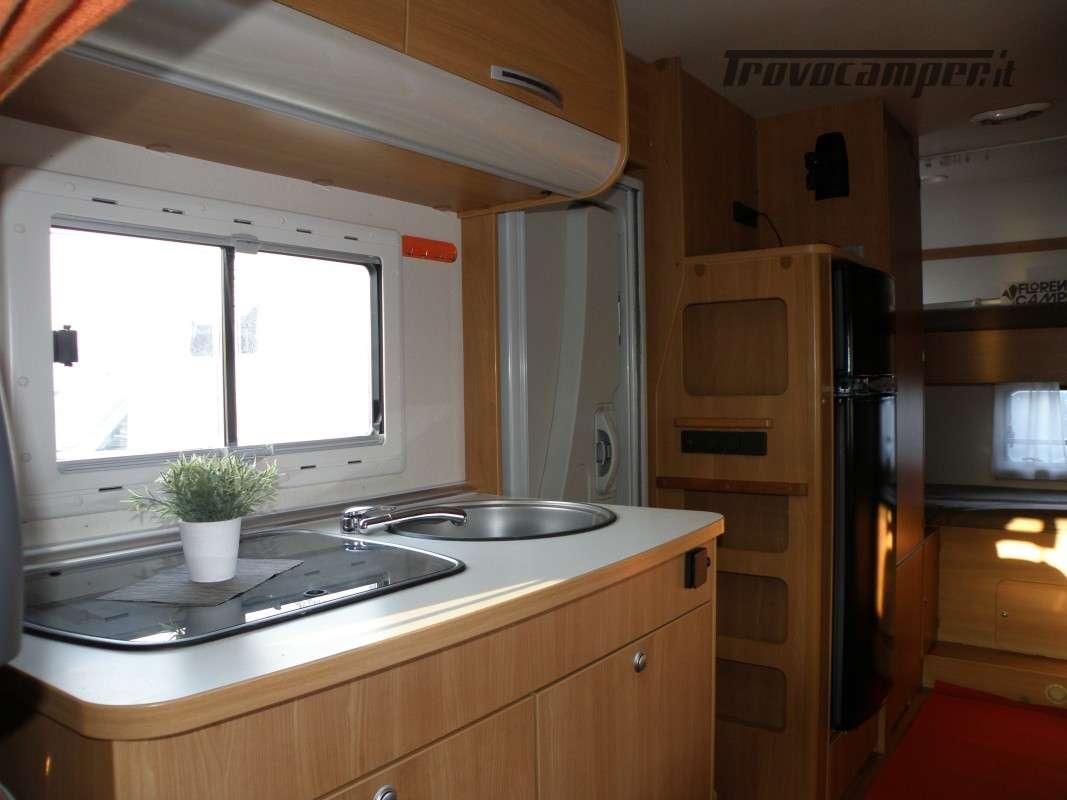 CAMPER MANSARDATO LETTI A CASTELLO SUN LIVING ANNO 2011 usato  in vendita a Prato - Immagine 15