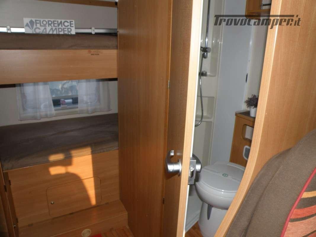 CAMPER MANSARDATO LETTI A CASTELLO SUN LIVING ANNO 2011 usato  in vendita a Prato - Immagine 20
