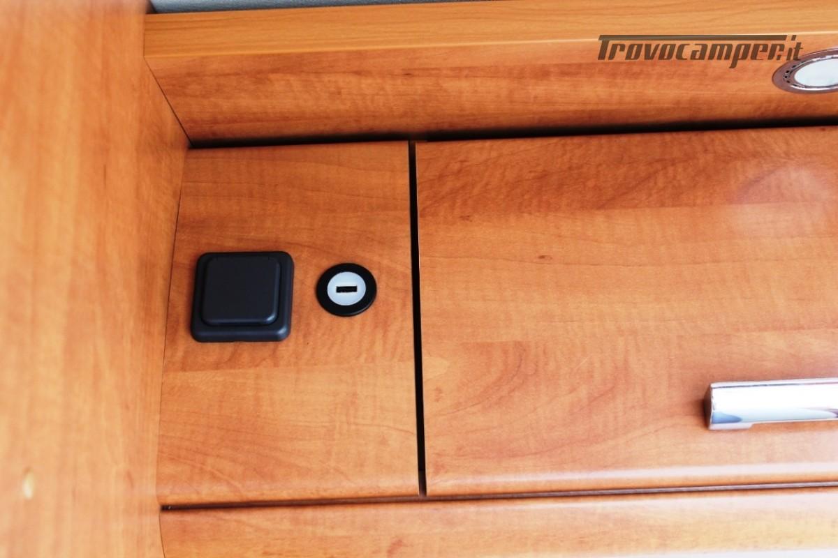 CARTHAGO MALIBU' VAN 600 LOW BED usato  in vendita a Bergamo - Immagine 19