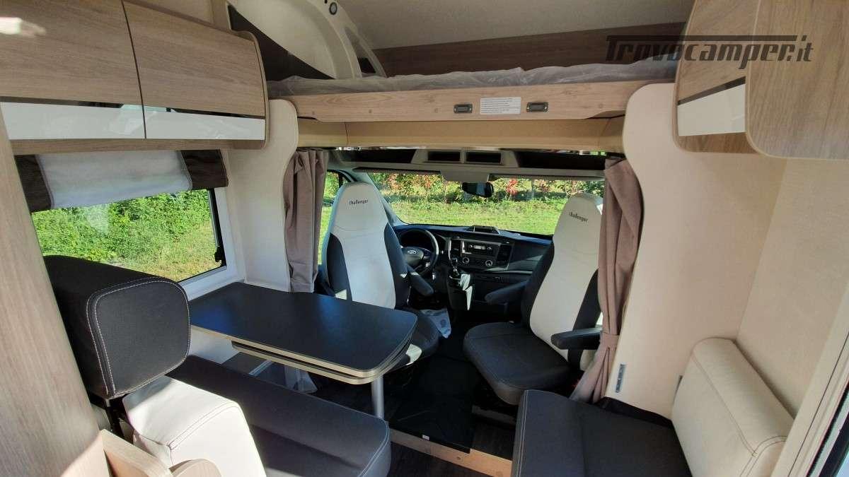 Challenger C194 Start Edition - Mansardato Lungo 5.99metri - Modello 2021 nuovo  in vendita a Monza e Brianza - Immagine 7