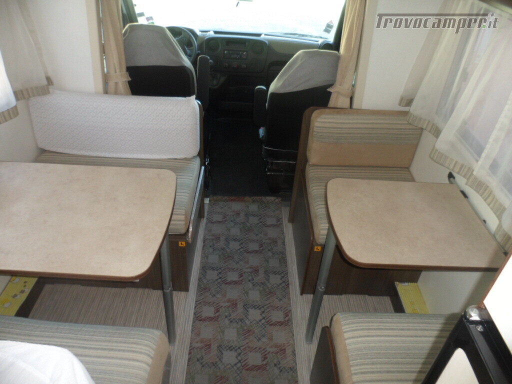 Mansardato Blucamp SKY71 OMOLOGATO 7 posti, letti castello trasversali usato  in vendita a Alessandria - Immagine 3