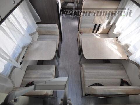Mansardato Blucamp SKY71 OMOLOGATO 7 posti, letti castello trasversali usato  in vendita a Alessandria - Immagine 16