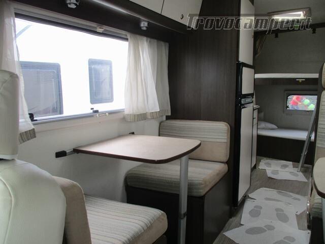 Mansardato Blucamp SKY71 OMOLOGATO 7 posti, letti castello trasversali usato  in vendita a Alessandria - Immagine 18