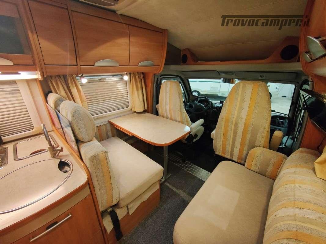 USATO - Semintegrale Hymer Tramp GT 655 del 2006 usato  in vendita a Macerata - Immagine 5