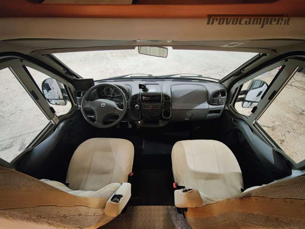 USATO - Semintegrale Hymer Tramp GT 655 del 2006 usato  in vendita a Macerata - Immagine 9
