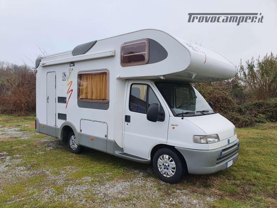Mansardato Knaus Sun Traveller 604H usato  in vendita a Monza e Brianza - Immagine 1