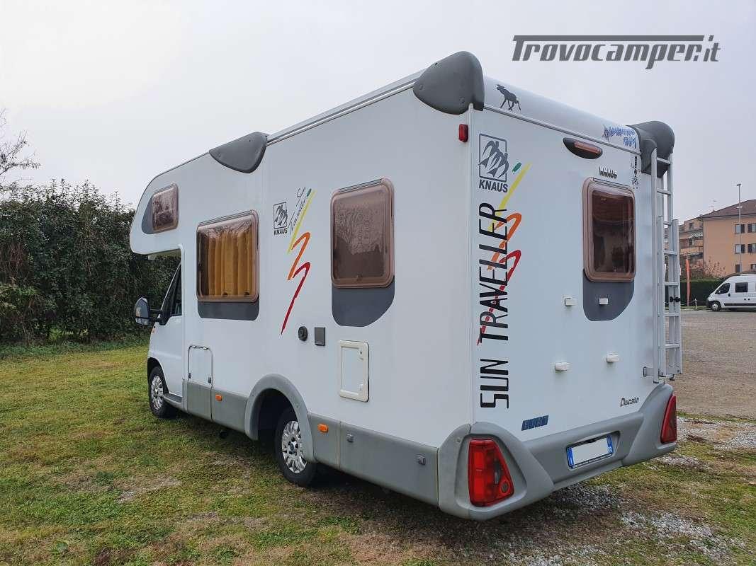 Mansardato Knaus Sun Traveller 604H usato  in vendita a Monza e Brianza - Immagine 16